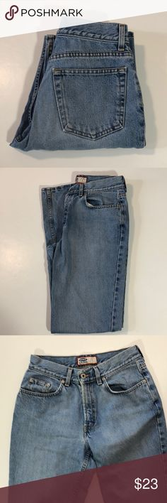 "Old Navy Mid Rise Boot Cut Jeans Excellent condition. Mid rise, boot cut. Light to medium wash. Heavier denim. Slight wear on hems and waistband. Size 8 Long. 100% cotton. Waist about 27"", rise about 10"", inseam about 32"".   331 Old Navy Jeans Boot Cut"