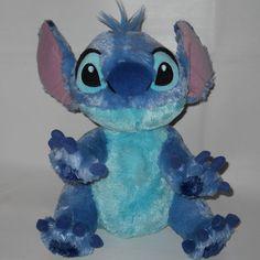"Disneyland Lilo Stitch Stuffed Plush 12"" Sitting Disney Animal #Disney"