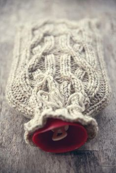 Hot water bottle & knitted cover | Add it to the list for freshers | #Freshers2014 #Students | For more student stuff, check out iQ Student Accommodation