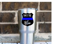 Back The Blue Police Lives Matter Decal