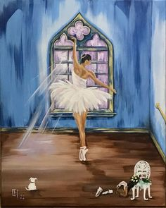 The Artist's Way, I Fall In Love, Great Artists, Coloring Books, Dance, Canvas, Painting, Vintage Coloring Books, Dancing