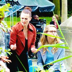 Ugh. When behind the scenes doesn't truly encompass the way Mel looks at Katie.