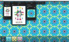 Repper — Amazing pattern design  Repper is a pattern creator that turns images into eye-catching designs. Use it to create your own stationary, pillows, lamp shades, business cards, mugs, fabrics, christmas decorations, or really anything you can imagine!