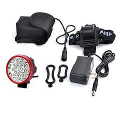 Charger 5000LM XM-L T6 Waterproof Bicycle LED Headlight Bike Lamp Battery Pack