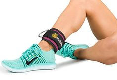 Amazon.com : Ankle Straps for Cable Machines by DMoose Fitness (Choice of Single or Pair) - Strong Velcro, Double D-Ring, Adjustable Comfort fit Neoprene - Premium Ankle Cuffs to Enhance Abs, Glute & Leg Workouts : Sports & Outdoors