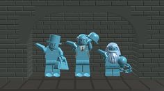 Lego Hitchhiking Ghosts