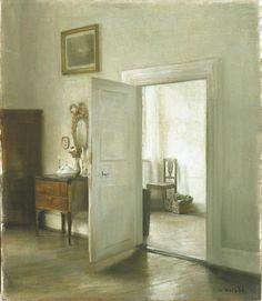 Carl Vilhelm Holsøe (Danish, 1863-1935) - Interior