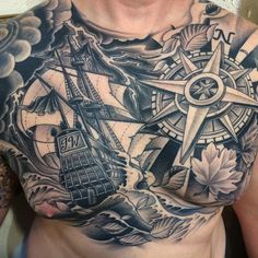 Epic nautical chestpiece by Darcy Nutt!