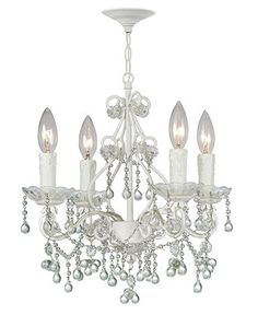 For the Glamour Girl: CRYSTORAMA #chandelier #lighting #decor BUY NOW!