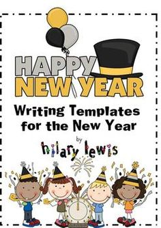 This cute New Year themed writing stationery is great for kids to use when they are publishing their stories. Use these pages to spark imaginations...