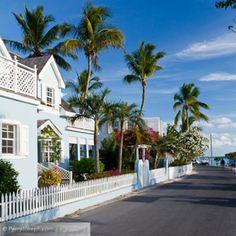 Dunmore Town, Harbour Island, Eleuthera, Bahamas