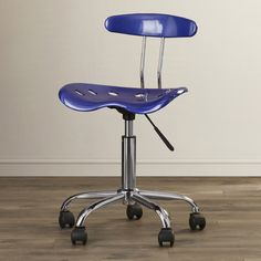 Zipcode™ Design Mid-Back Task Chair with Tractor Seat & Reviews | Wayfair