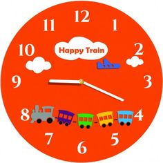 Clock, Happy, Wall, Home Decor, Glamour, Fine Watches, Wall Clocks, 3ds Colors, Stylish Watches