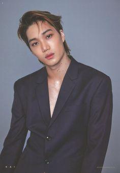 Kai - 181206 2019 Season's Greetings poster Baekhyun, Exo Kai, Kaisoo, Kpop Exo, Kris Wu, Rapper, Exo 2014, Exo Album, Kim Minseok