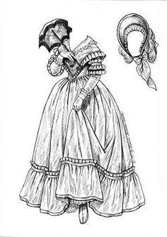 NEW ORLEANS BELLE 1837   by Brenda Sneathen Mattox