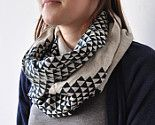 Bold and bulky scarf.