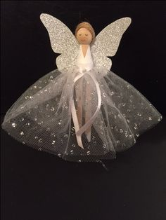 Clothes Peg doll Christmas angel