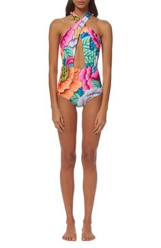 Mara Hoffman 'Flora' One-Piece Swimsuit available at #Nordstrom