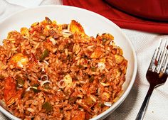 Jambalaya Recipe – Sarah O'Kelley Chicken and Sausage Jambalaya - Esquire