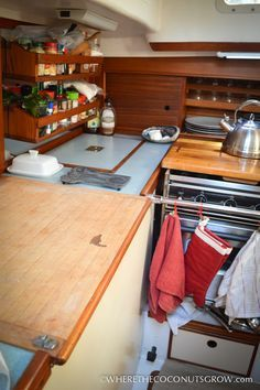 Refrigeration in a Tiny Floating Home