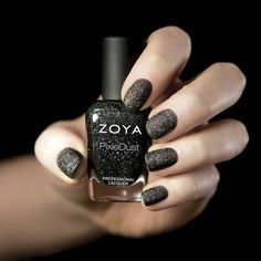 Shop for Zoya Nail Polish the longest wearing, natural nail polish available. Zoya Nail Polish is toluene, formaldehyde, DBP and Camphor Free. Over 300 Healthy Nail Polish Shades Available. Matte Black Nail Polish, Sparkle Nail Polish, Zoya Nail Polish, Nail Polish Trends, Matte Nails, Nail Polish Colors, Glitter Nails, Black Glitter, Black Nails