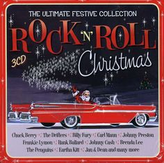 UK-only three CD holiday collection housed in a limited metal tin. Contains 60 classic Rock n' Roll Christmas songs from Chuck Berry, The Cadillacs, Brenda Lee, Billy Fury, Johnny Preston, The Drifter