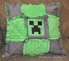 Richard and Tanya Quilts: A Cat and a Creeper