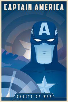Captain America   #illustration #hero #comic