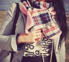 @OASAP Tartan Scarf for Winter Days http://tupersonalshopperviajero.blogspot.com.es/2014/01/oasap-tartan-scarf-for-winter-days.html #Oasap