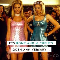Celebrate the 20th anniversary of Romy and Michele with this memorable moments from the movie.