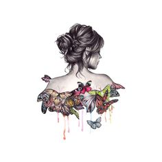 alina.yusewa — альбом «КЛИПАРТ В PNG / ДЕВУШКИ С БАБОЧКАМИ» на... ❤ liked on Polyvore