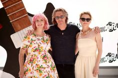 """(L-R) Writer Diablo Cody, actors Rick Springfield, and Mamie Gummer attend the """"Ricki and the Flash"""" photo call during Summer Of Sony Pictures Entertainment 2015 at The Ritz-Carlton Cancun on June 2015 in Cancun, Mexico. Ricki And The Flash, Diablo Cody, Mamie Gummer, Sony Pictures Entertainment, Rick Springfield, Vanity Fair Oscar Party, Meryl Streep, Bridesmaid Dresses, Wedding Dresses"""