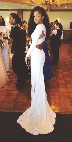 Chiffon Prom Dress,White Prom Dresses,Mermaid Prom Dresses,Sexy Prom Dress,Long Sleeve Prom Dr on Luulla Prom Dresses Long With Sleeves, Cheap Prom Dresses, Homecoming Dresses, Formal Dresses, Dress Prom, Party Dress, White Prom Dresses, Sexy Dresses, Dresses 2016