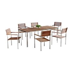 Brayden Studio® Trosclair 7 Piece Dining Set