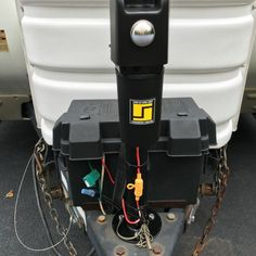 61 Best ELECTRIC TRAILER JACK images | Camper jacks, Electric power Arksen Tongue Power Switch Wiring Diagram on