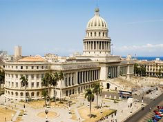 Often referred to as the twin of the US Capitol, Havana's National Capitol Building houses members of the National Assembly and Communist Party.