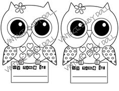 I Love These Owl Coloring Pages Vintage Looking Owls Are So Cute