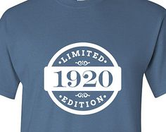Edition 2015 Birthday T Shirt 95th Gift 95 Years Old Mens