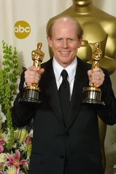 """74th Academy Awards® (2002) ~ Ron Howard won the Best Directing Oscar® for """"A Beautiful Mind"""" (2001)"""