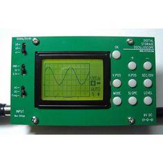 Digital Oscilloscope DIY Kit - SparkFun Electronics