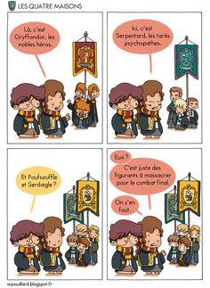 À Poudlard - Blog BD Harry Potter