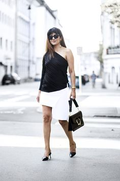 Outfit   How To Wear A One Shoulder Top Vol. II
