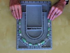 How to Bead a Necklace.Also lots of other great tutorials.