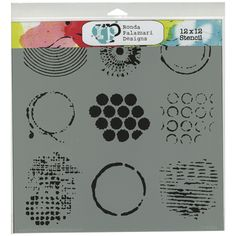 """Crafters Workshop - The Crafter's Workshop 12"""" x 12"""" Template - Well Rounded"""