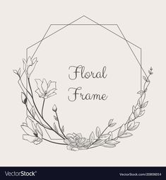 Black Hand Drawn Floristic Frame Border with Delicate Flowers, Branches, Plants … – Tattoo Pattern Floral Embroidery Patterns, Embroidery Flowers Pattern, Hand Embroidery Stitches, Hand Embroidery Designs, Embroidery Art, Drawing Simple, Drawing Hand, Japanese Floral Design, Design Floral