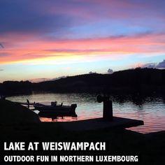 Auf der Suche nach Freizeitaktivitäten in Luxemburg!? Dann ab zum See in Weiswampach. Was man außer baden noch alles machen kann - Mehr dazu auf http://www.rosportlife.com