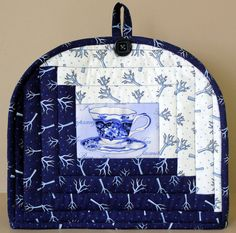 Winter themed insulated teapot cozy  Quilted by RedNeedleQuilts, $25.00