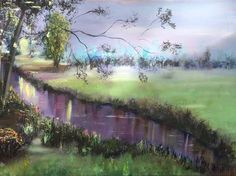 Golf Courses, Painting, Painting Art, Paintings, Painted Canvas, Drawings
