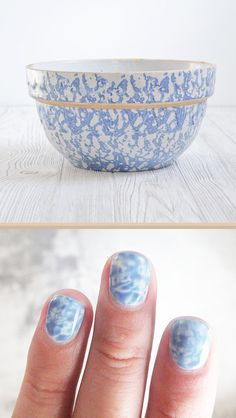 Spongeware Nails