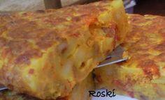 Tortilla con Patatas y Chorizos